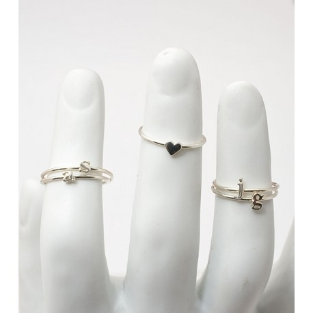 Silver Type Knuckle Rings