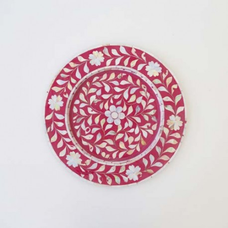 Pink Plate Charger