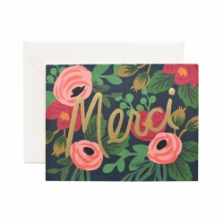 Rosa Merci Cards