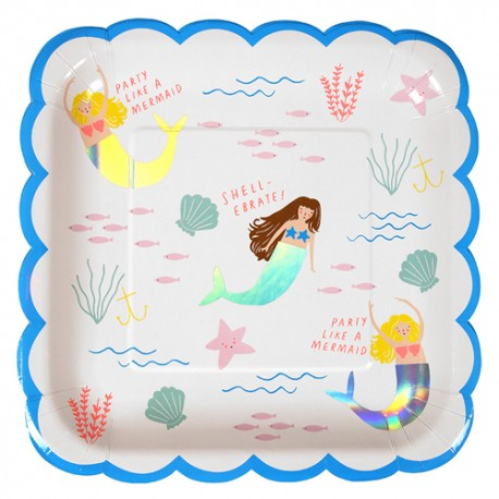 Mermaid Large Plates