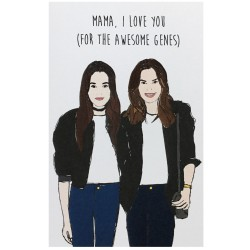Cindy & Kaia Card