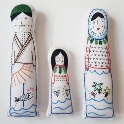 Embroidered Dolls - Greece