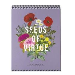 Seeds of Virtue Notecards: Flowers