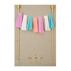 Tassels Cake Toppers