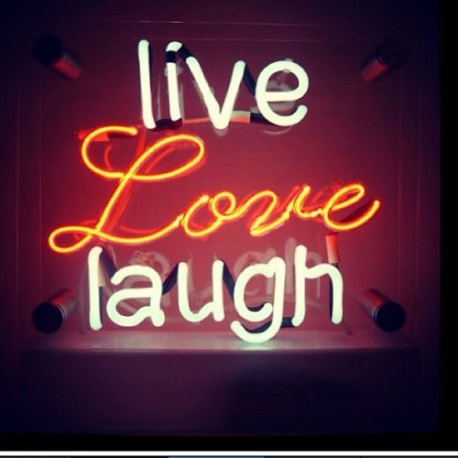 Live Love Laugh Neon