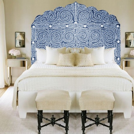 Queen Bone Headboard