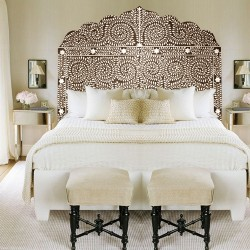 Queen Pearl Headboard