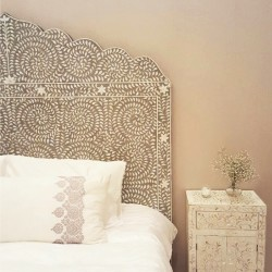 King Pearl Headboard