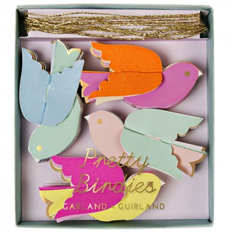 Birds Mini Garland