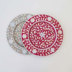 Mother of Pearl Plate Charger