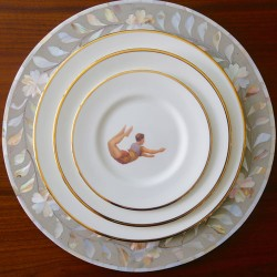 Trapeze Boy Side Plate