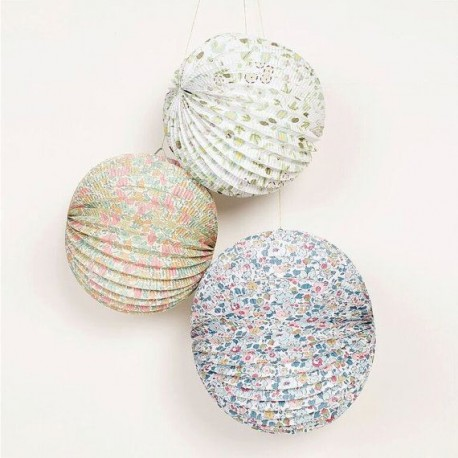 Patterned Paper Globes