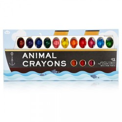 Animal Crayons (12 pk)