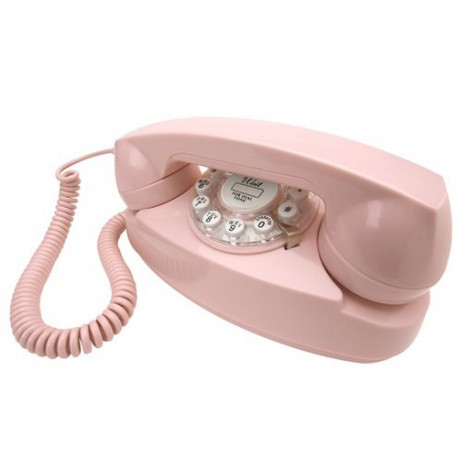 Crosley Princess Phone - Pink