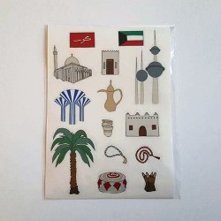 Iconic Kuwait Sticker Pack
