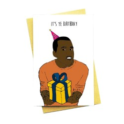 It's Ye Birthday