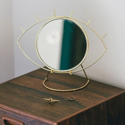 Cyclops Table Mirror (Gold)