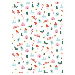 Festive Icon Wrapping Sheets