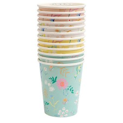 Floral Assorted Cups