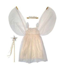 White Tulle Fairy Dress Up