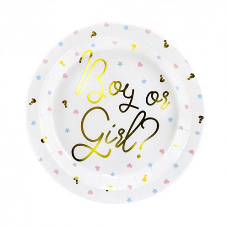 Boy or Girl Plate