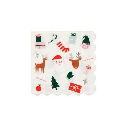 Festive Icon Small Napkins