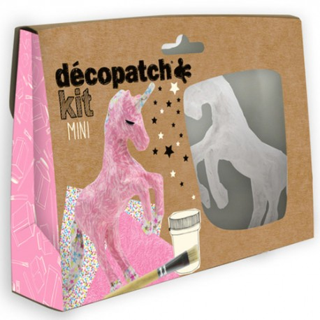 Unicorn Mini Decopatch Kit