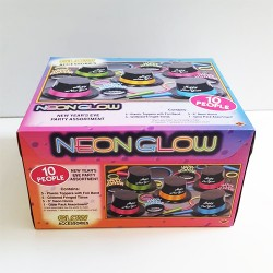 Neon Glow New Year Party Box