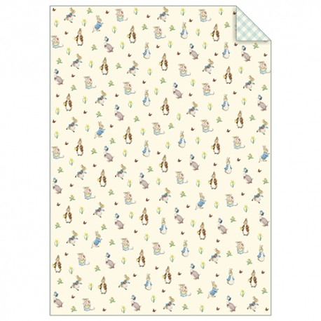 Peter Rabbit & Friends Wrapping Sheets