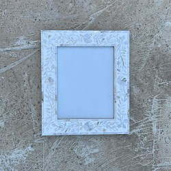 White MOP Photo Frame