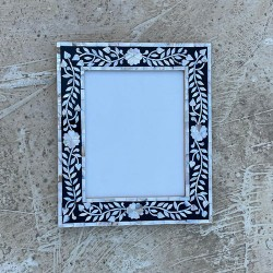 Black MOP Photo Frame